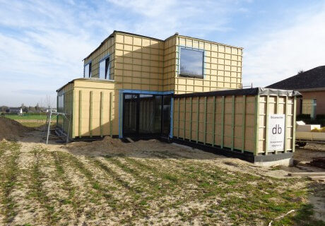 Nieuwbouwproject te Meise
